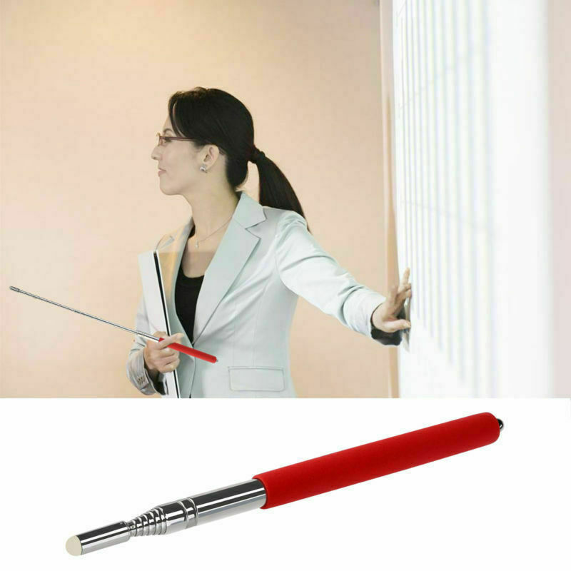 "40/"" Inch Hand Pointer Extendable Teacher Teaching Presenter Classroom Whiteboard"