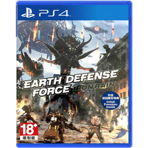 Earth Defense Force: Iron Rain  (PS4)