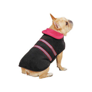 Zack & Zoey Warm Reflective Reversible Thermal Dog Jacket - Choose Size & Color