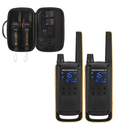 U Motorola T82 Extreme Walkie Talkie Twin Pack Licence Free 2 Way Radios PMR446