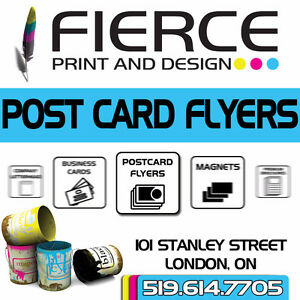 POST CARD FLYERS – the most economical prices!