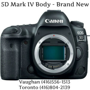 Store Sale - Canon EOS 5D MARK IV BODY, Brand New In Box