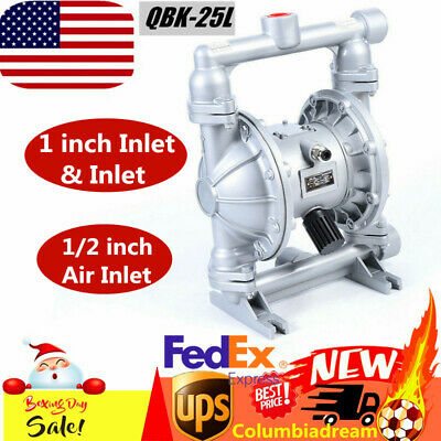 Air-operated Double Diaphragm Pump 1 Inlet Outlet Petroleum Fluids 115 Psi