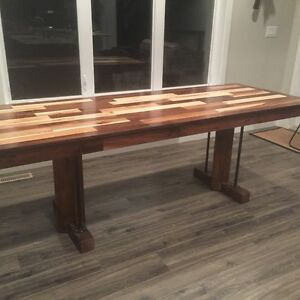 handmade unique kitchen table