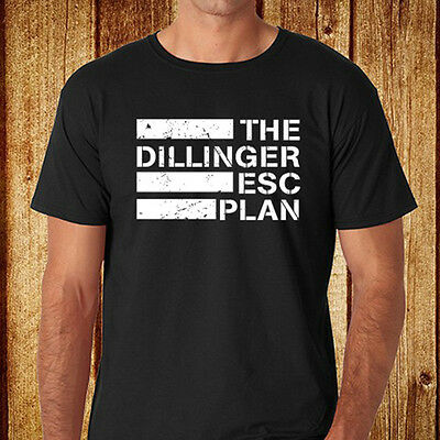 The Dillinger Escape Plan Metal Band Mens Black T-Shirt Size S-3XL Free Shipping