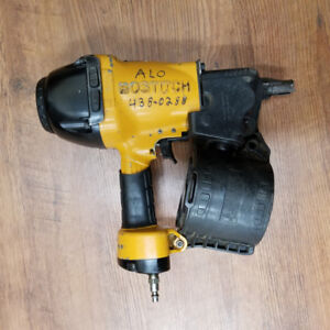 used coil framing nailer bostitch cloueuse à charpente usagée