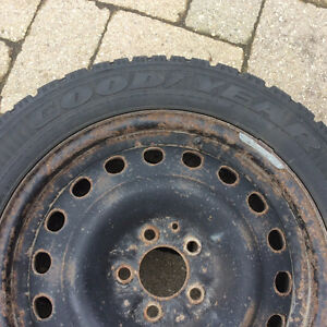 Goodyear Nordic Winter Tires P215/55R17 London Ontario image 3