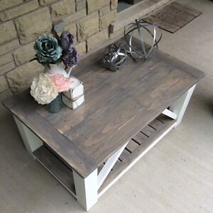 Rustic Country Chic Coffee tables with matching side tables Belleville Belleville Area image 10