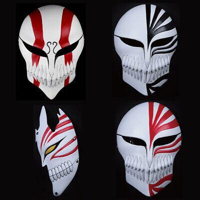 Bleach Ichigo Halloween Costume (Halloween Masquerade Cosplay Anime BLEACH Kurosaki Ichigo Cosplay Costume Mask)
