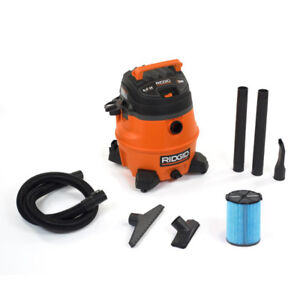 Rigid - 53 Litre 6 Peak HP Wet Dry shop Vac - $100