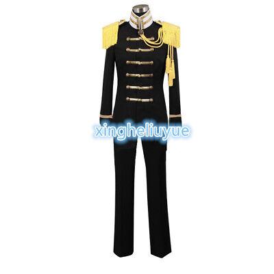 APH Hetalia: Axis Powers Japan Honda Kiku Black Unifrom Clothing Cosplay Costume - Japan Hetalia Halloween