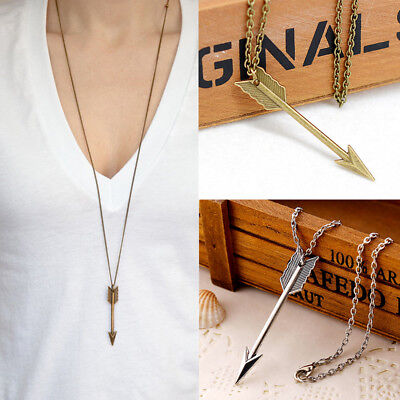 Sweater Chain Fashion Long Necklace Arrow Pendant Necklaces Women's Jewelry Gift