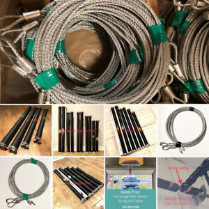 Replace Garage Door Spring and Cables 647-808-6168