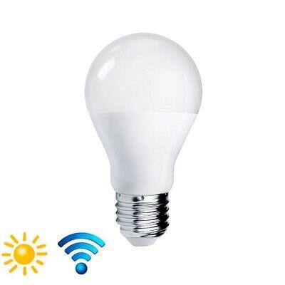 Bombilla E27 LED con sensor de movimiento + día/noche 10W