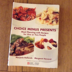 MEAL PLANNING WITH RECIPES FOR ONE OR TWO PEOPLE