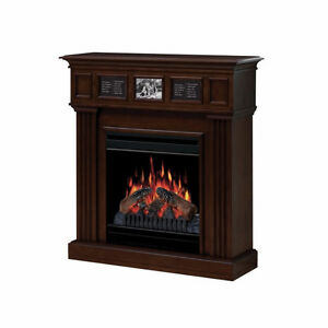 Electric Fireplace Mocha Colour