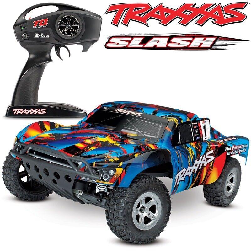 Traxxas Slash XL-5 2WD RTR w/TQ 2.4GHz Short Course Electric RC Truck - 58024