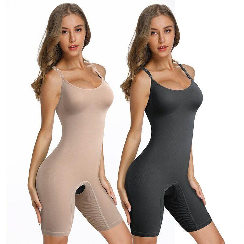Damen Shapewear Figurformender Formende Bodys Taillenformer Bodysuit Korsett NEU