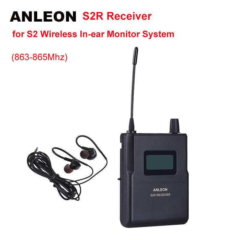 ANLEON S2-R Empfänger für kabellosen In-Ear-Monitor IEM 863-865Mhz