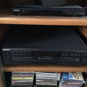 Sony 5 disc player