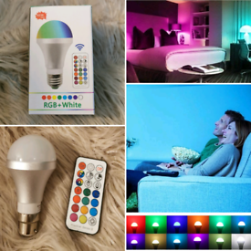 Colour Changing light work remote