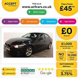 BMW 320 FROM £45 PER WEEK!