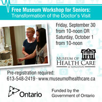 Free Workshop for Seniors: Transformation of the Doctor's Visit