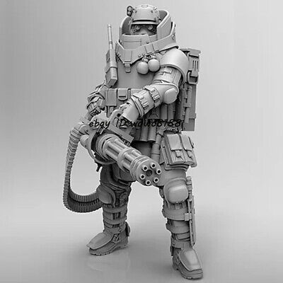 HOT 1:24 Scale Mechanical warrior Figure Model unassembled Garage Kit Unpainted
