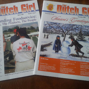 The Dutch Girl, 2 Issues, Mar and Dec 2003, J.M. Schneider