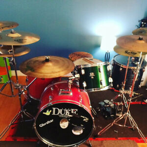 Drums with lots of extras