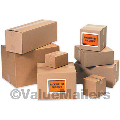 50 14x10x5 Shipping Packing Mailing Moving Boxes Corrugated Cartons Storage Box