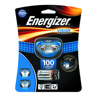 Energizer  100 lumens Blue  LED  Headlight  AAA Battery for sale  Shipping to India