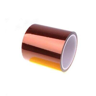 100mm High Temperature Heat Resistant Kapton Tape Polymide Bga 100ft