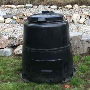 Outdoor Black Composter