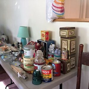COLLECTIBLES, ANTIQUES, PICKERS, GARAGE SALE ITEMS