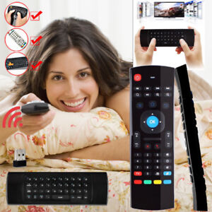MX3 2.4G Wireless Remote Voice Control Air Mouse Keyboard