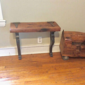 Antique Barn Board Table