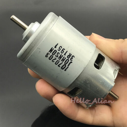 JOHNSON RS-775 Electric Motor DC 12V 18500RPM High Speed High Power Torque 300W