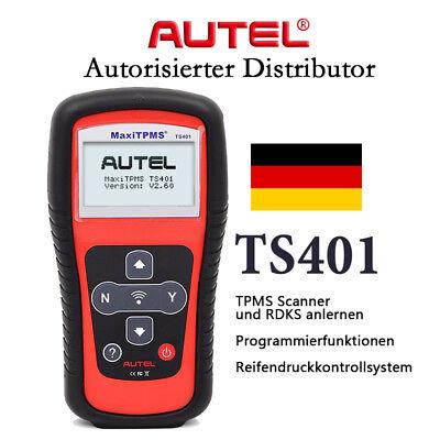 System-diagnose-gerät (Autel TS401 KFZ TPMS RDKS Reifendruckkontrollsystem Diagnosegerät Auto Relernen)