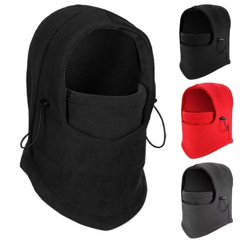 Winter men women Fleece Balaclava Thermal Sports Face Mask for Motorcycle Ski Clothing, Shoes & Accessories