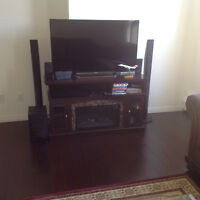 """50"""" LED 3D Smart TV with Home Theatre Sound System and Bluray"""