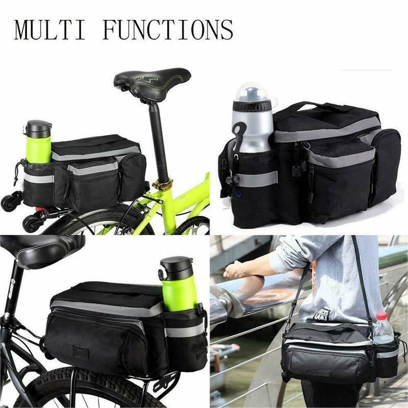 Cycling Rear Storage Trunk Pannier Rack Waterproof