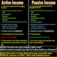 Part Time/Full Time Passive Income