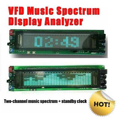 Vfd Music Spectrum Display Analyzer W Clock Audio Level Indicator Music Rhythm