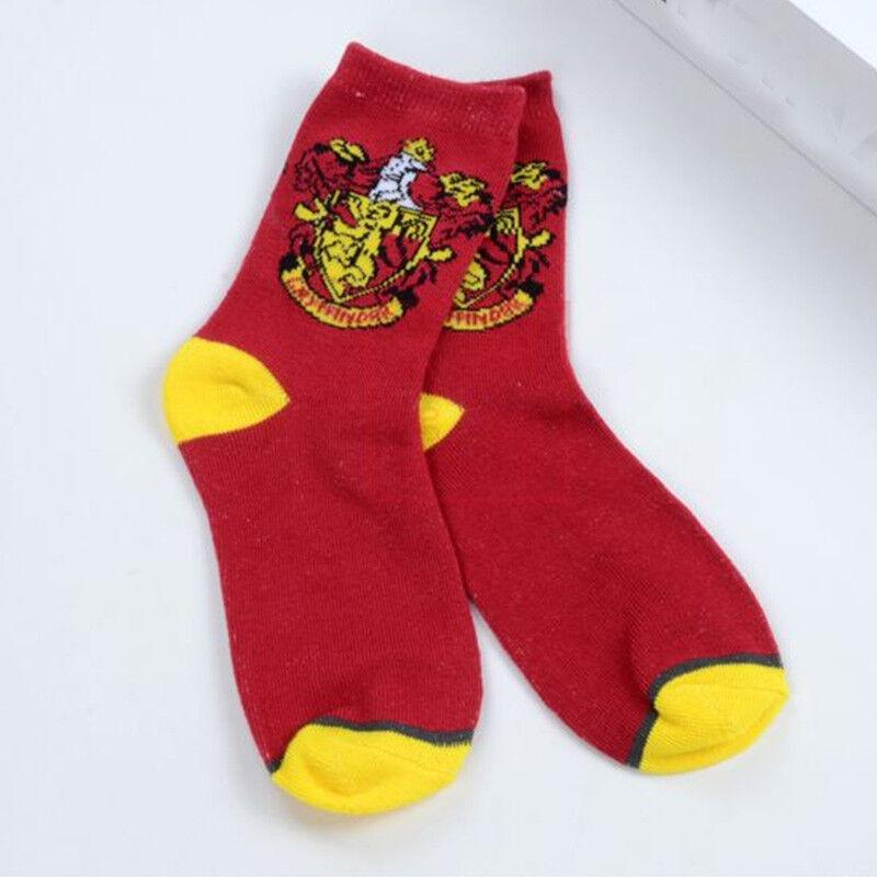Harry Potter Gryffindor Slytherin Ravenclaw Hufflepuff Mittlere Socken Cosplay