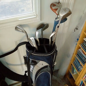 RH clubs and PING stand bag Kitchener / Waterloo Kitchener Area image 1