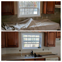 Drywall and crackfill specialist