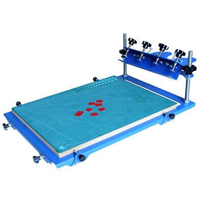 1 Color Desktop Screen Printing Machine Micro-registration Press Printer 3 Ways