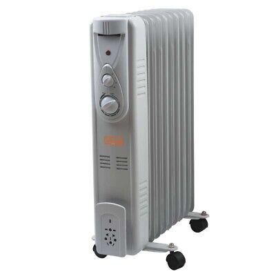Estufa Eléctrica A Aceite / Radiador Presión 9 Elementos 2000W Vinco -...