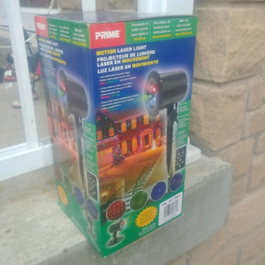 MONTION LASER Christmas light new 3 colors red green blue